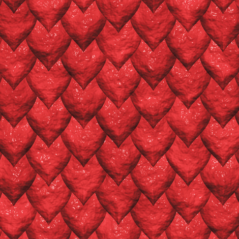 Red Dragon Skin fabric by animotaxis on Spoonflower - custom fabric