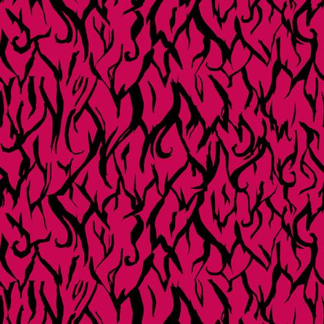 Fur:Fuchsia   fabric by pond_ripple on Spoonflower - custom fabric