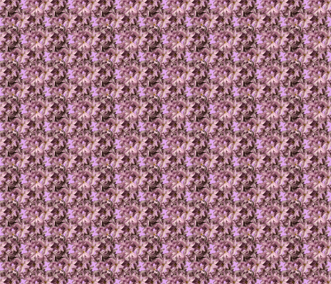Mini Hyacinth Flowers fabric by nezumiworld on Spoonflower - custom fabric