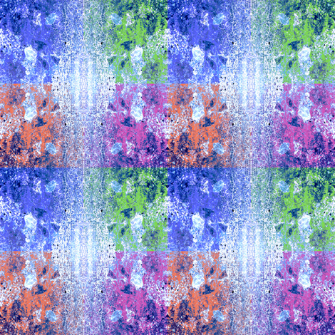 Mottled Blue Collage fabric by falcon11 on Spoonflower - custom fabric