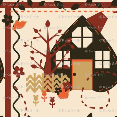 Autumn House Quilt
