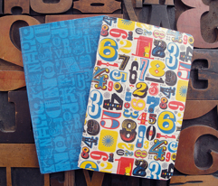 Woodtype Numbers || letterpress wood type typography western circus primary colors