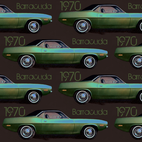 70 Cuda fabric by paragonstudios on Spoonflower - custom fabric