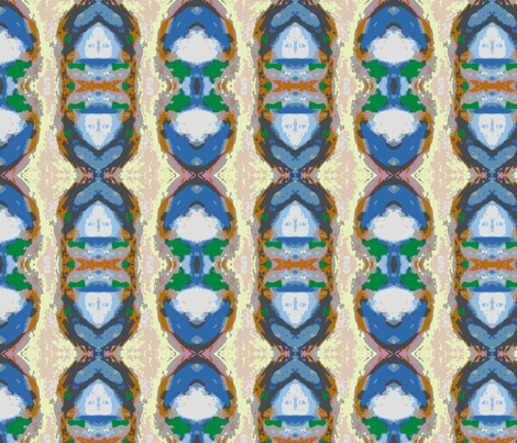 Tracking in Sand from the Beach fabric by susaninparis on Spoonflower - custom fabric