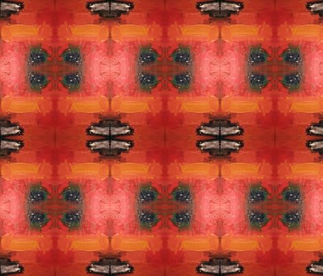 OilPaintPlus-ed fabric by ghennah on Spoonflower - custom fabric