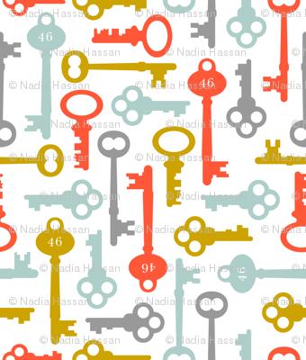 Skeleton Keys: Subdued Primaries