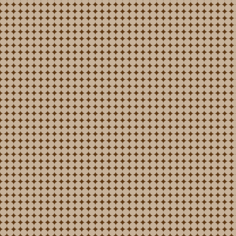 Dots_Tan-Warm_ Brown fabric by animotaxis on Spoonflower - custom fabric