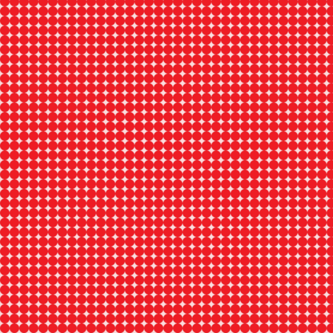 Dots_Red-Pink fabric by animotaxis on Spoonflower - custom fabric