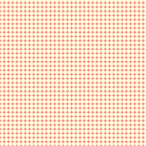 Dots_Yellow-Coral fabric by animotaxis on Spoonflower - custom fabric