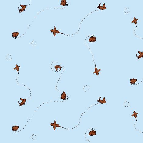Gryphons Like To Gambol fabric by wendymaroon on Spoonflower - custom fabric