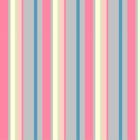 Candy Stripe 2 fabric by kezia on Spoonflower - custom fabric