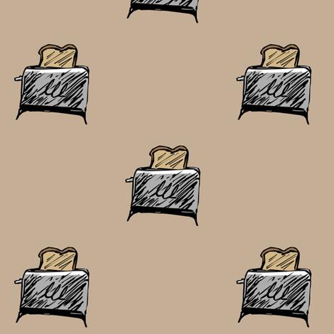 Toaster fabric by pond_ripple on Spoonflower - custom fabric