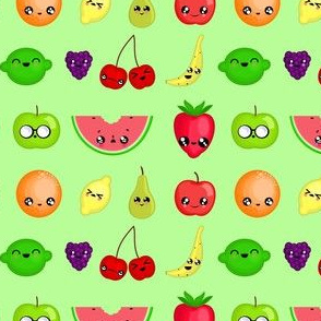 fruity faces