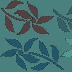 4_Flowers_green-brown-MINAGREEN