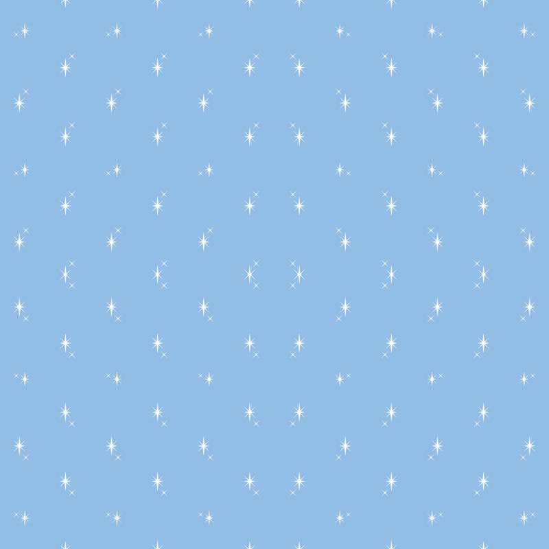 Baby Boy Blue Antarctic Snowflake Pattern 1 Wallpaper