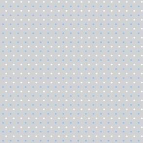 Baby Boy Blue Antarctic polk-a-dot pattern 2