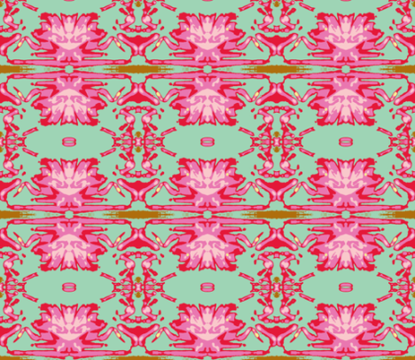 Deco Flower fabric by susaninparis on Spoonflower - custom fabric