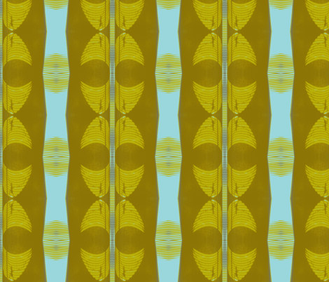Mid-century Reflections fabric by susaninparis on Spoonflower - custom fabric