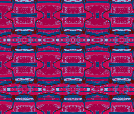 Red Tide fabric by susaninparis on Spoonflower - custom fabric