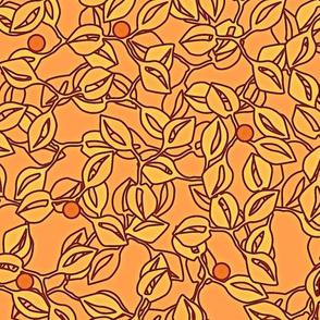 © 2011 leaves and berries sorbet