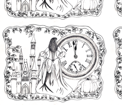 Once Upon a Time fabric by victoriagolden on Spoonflower - custom fabric
