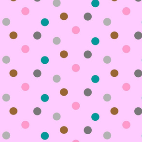 dots over pink