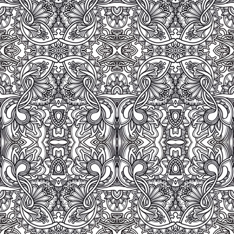 Meander   fabric by edsel2084 on Spoonflower - custom fabric