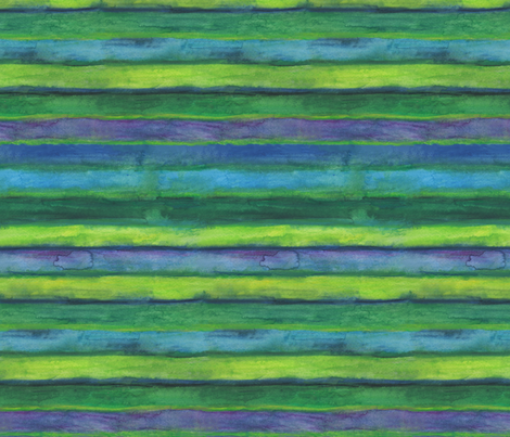 Green Wheels Green Stripes fabric by fussypants on Spoonflower - custom fabric