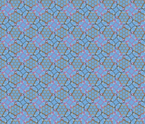 ice cream fabric by cavamos on Spoonflower - custom fabric