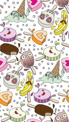 Ice Cream Crime Scene