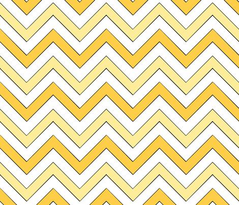 Sunny Chevron III fabric by pond_ripple on Spoonflower - custom fabric