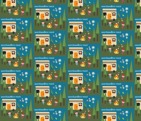 Marshmellow Roast fabric by noelle*nikas on Spoonflower - custom fabric