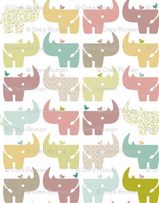 Spring Rhinos