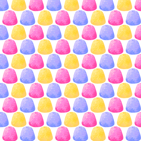 Gumdrops fabric by siya on Spoonflower - custom fabric