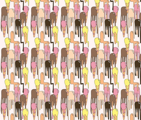 Melting Paddlepops fabric by nerida_jeannie on Spoonflower - custom fabric