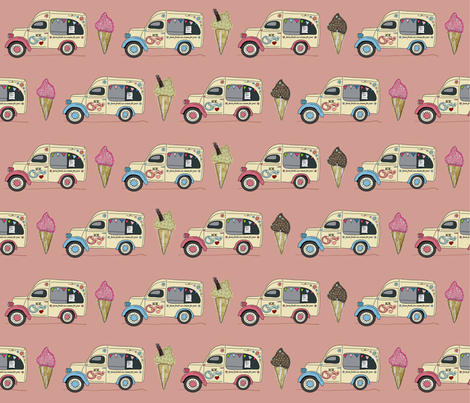 ice_van_melba fabric by peppermintpatty on Spoonflower - custom fabric