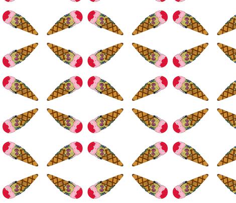 ice_cream_1 fabric by curvygirl91 on Spoonflower - custom fabric