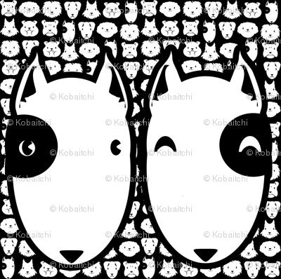 Pillow head Bull Terrier FQ