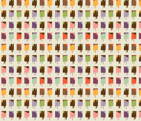 Color Drip  fabric by tweedletwill on Spoonflower - custom fabric