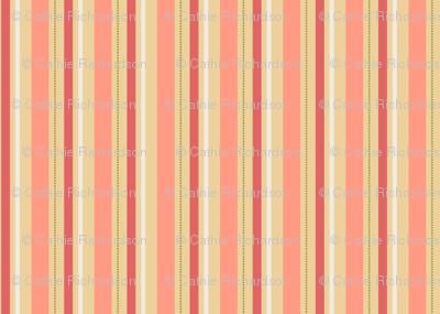 Peachy Stripe