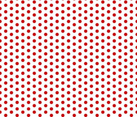 Cherry Dot fabric by modgeek on Spoonflower - custom fabric