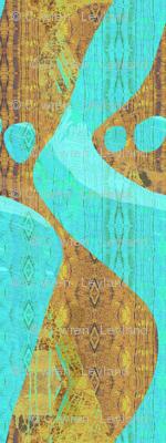 Rahki--grass mat wall hanging