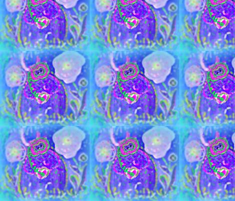 Scuba Diva  Hilda in her JellyFish Garden fabric by jellybeanquilter on Spoonflower - custom fabric