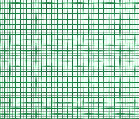 tinygreenplaid fabric by circlesandsticks on Spoonflower - custom fabric