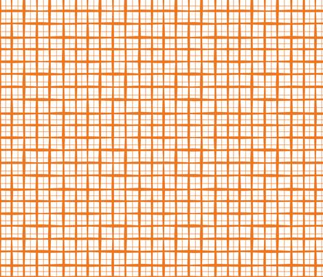 tinyorangeplaid fabric by circlesandsticks on Spoonflower - custom fabric