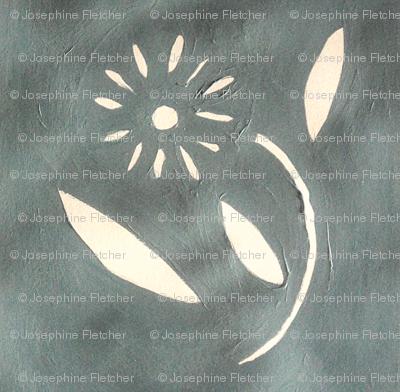 DSC00275-Tiny Flowers on Grey Background