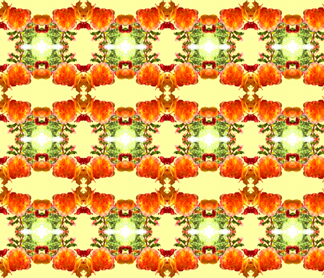Begonia Floral fabric by robin_rice on Spoonflower - custom fabric