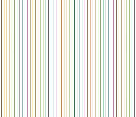 rainbowstripes fabric by circlesandsticks on Spoonflower - custom fabric