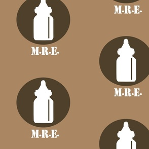 The Infantry - Baby Bottle Design - Browns