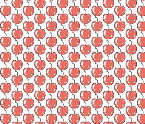 Cherry Vanilla fabric by majobv on Spoonflower - custom fabric